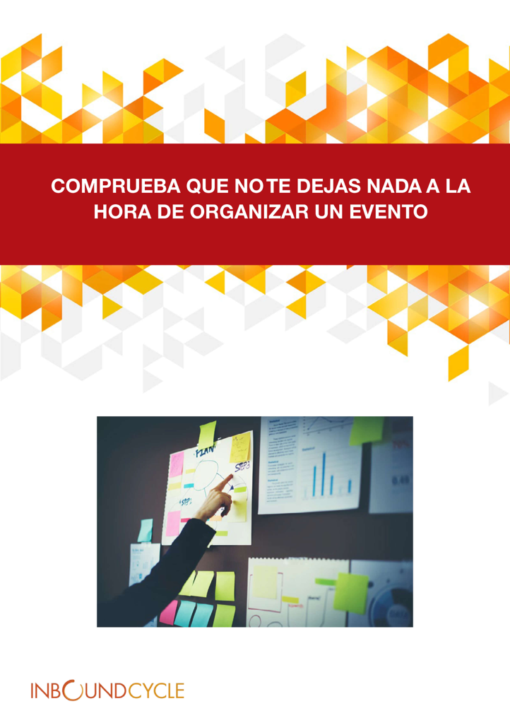 P1 - Checklist organización evento