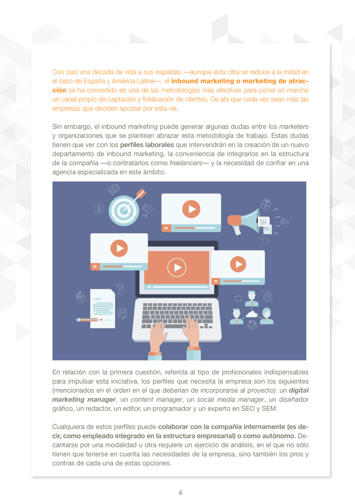P4 - Departamento de Inbound Marketing