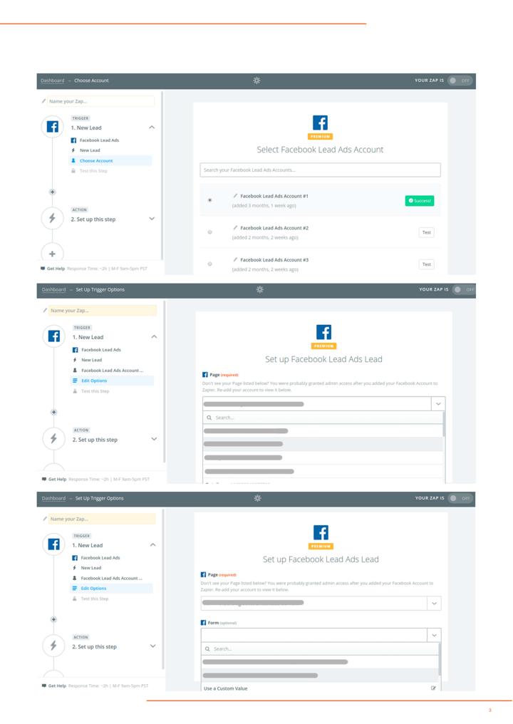 P4 - Integración facebook lead ads hubspot