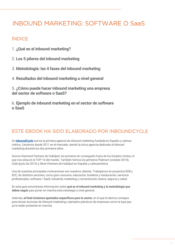 P2 - Inbound Marketing para SAAs