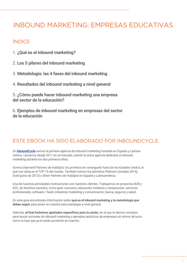 P2 - Inbound Marketing para educación