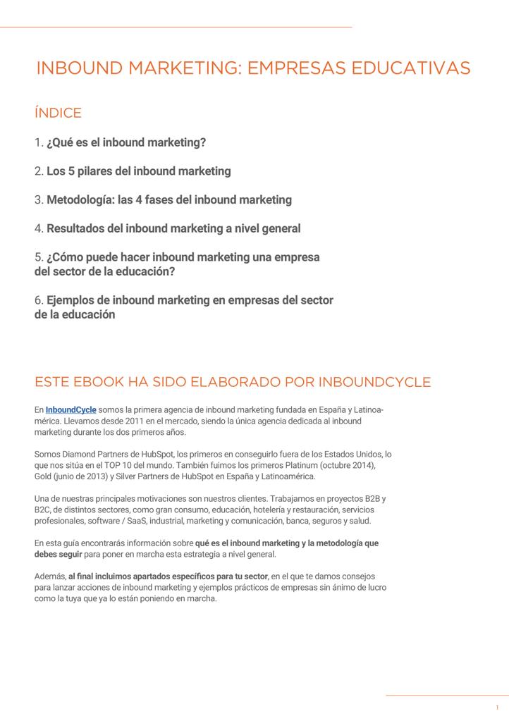 P2 - Inbound Marketing para educación