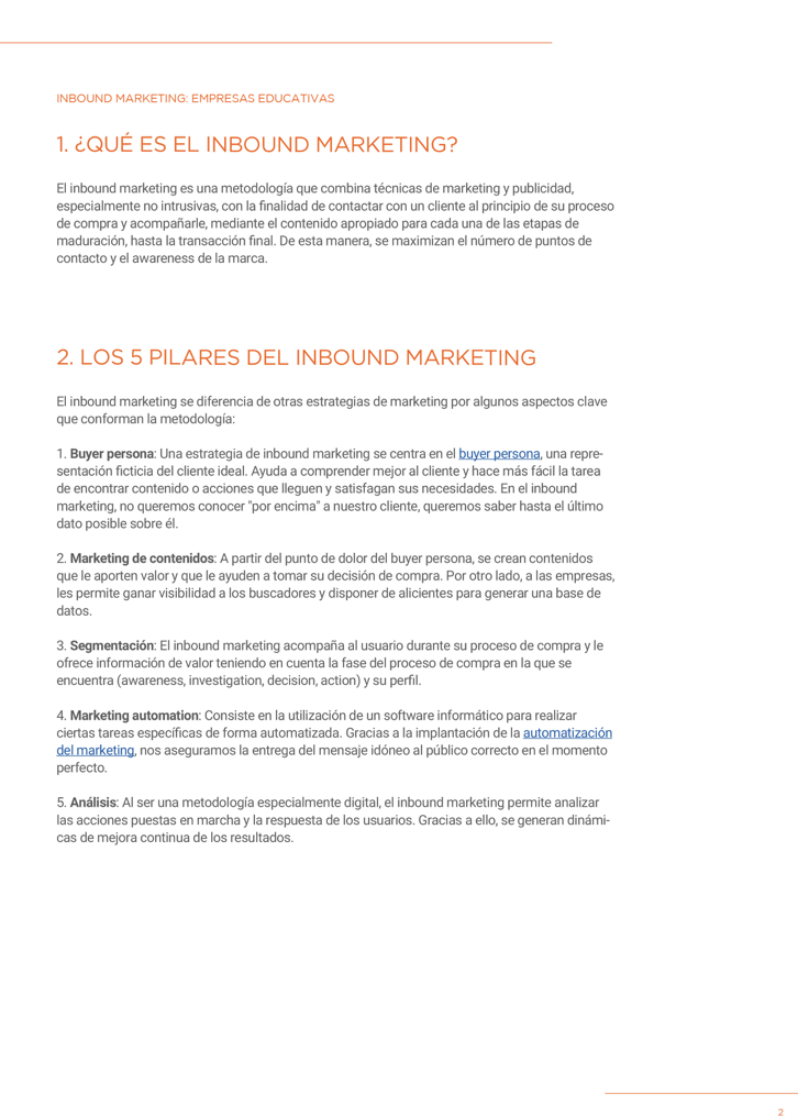 P3 - Inbound Marketing para educación