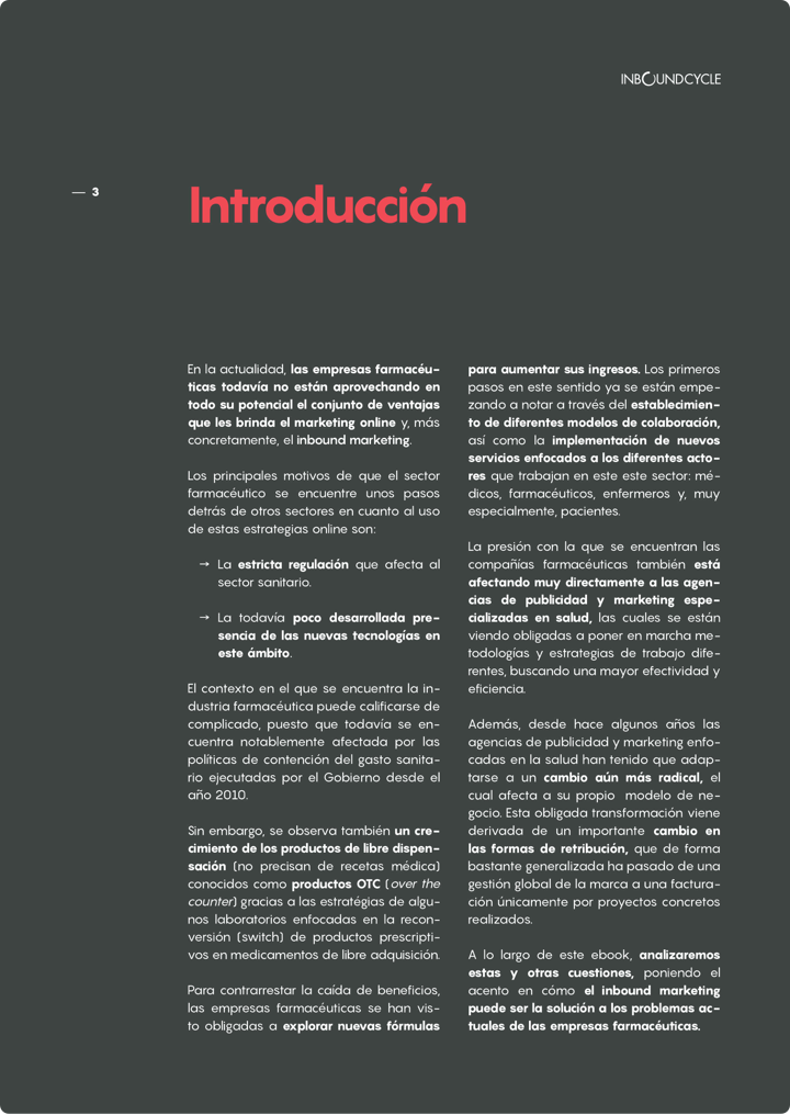 P3 - Inbound marketing para empresas farmacéuticas