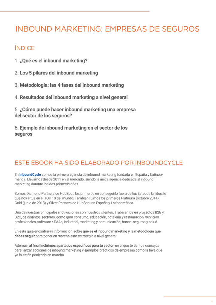 P2 - Inbound Marketing para seguros
