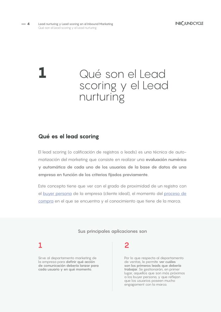 P4 - Lead nurturing y lead scoring en el inbound marketing