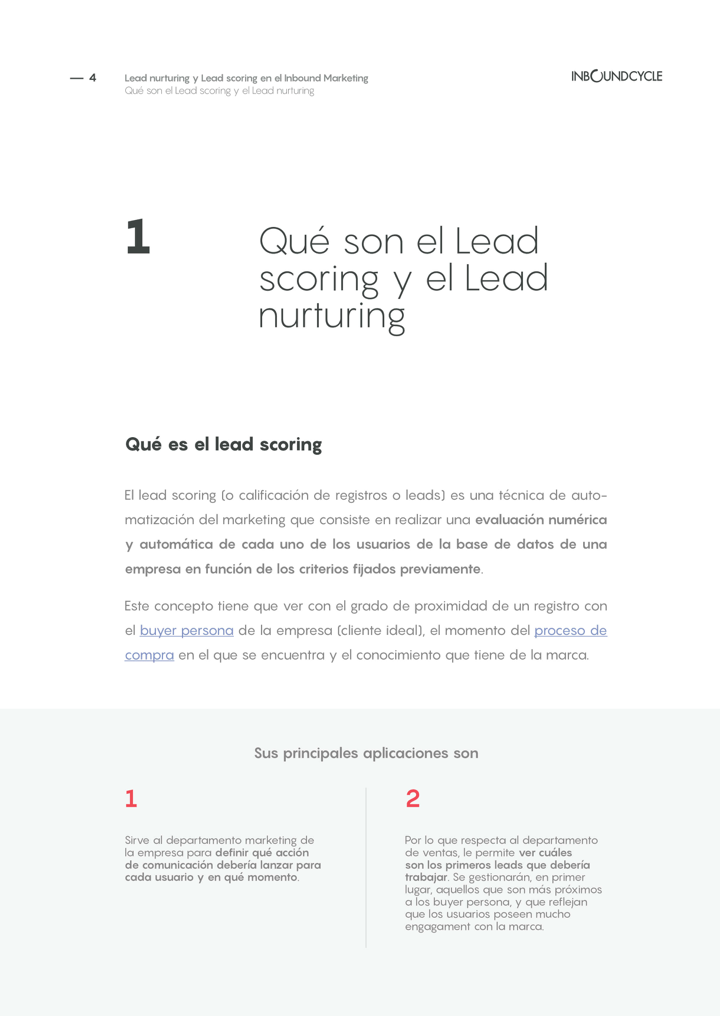 P4 - Lead nurturing y lead scoring en el inbound marketing