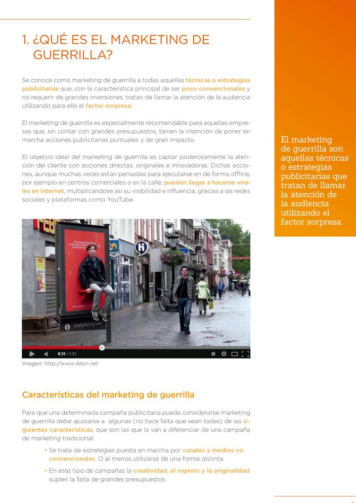 P4 - Marketing de guerrilla