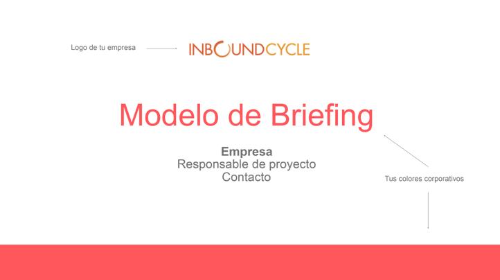 P1 - Plantilla modelo briefing