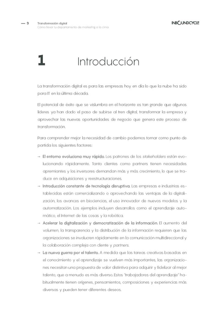 P3 - Transformación digital en dep mkt