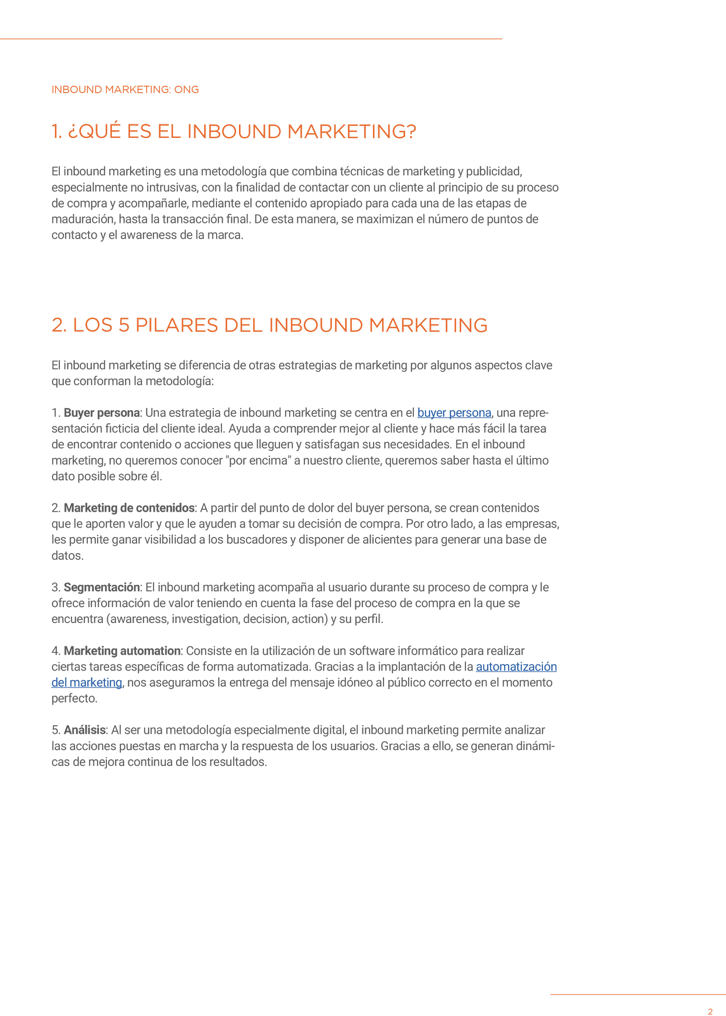 P3 - Inbound Marketing para ONG