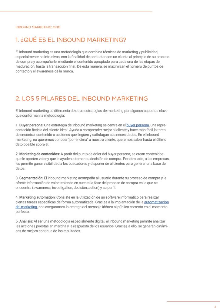 P3 - Inbound Marketing para ONG