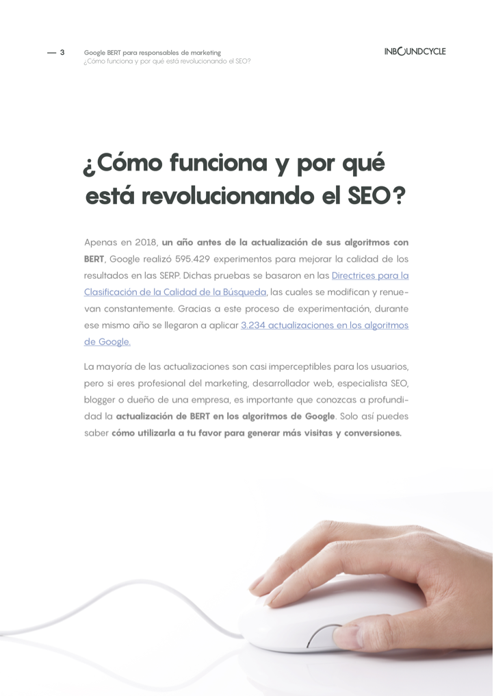 P3 - Google BERT para responsables de marketing