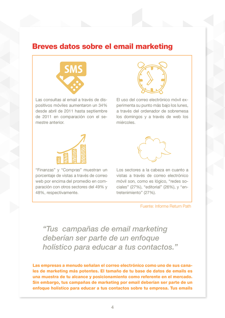 P4 - email marketing